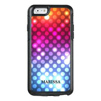 Bokeh för stilfullt glitter färgrikt ljus OtterBox iPhone 6/6s skal