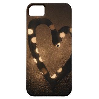 Bokeh hjärta iPhone 5 skydd