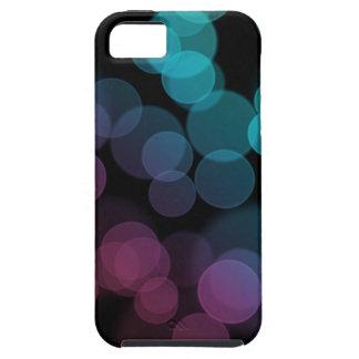Bokeh på svart iPhone 5 Case-Mate skal