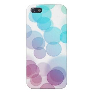 Bokeh på vit iPhone 5 cases