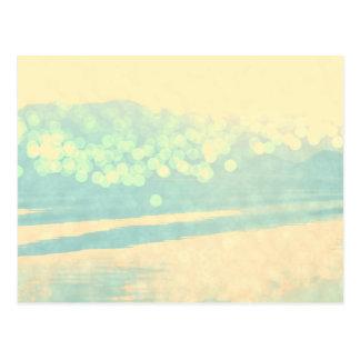 Bokeh sjö vykort