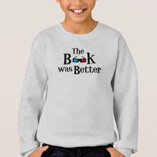 Boken var bättre tshirts
