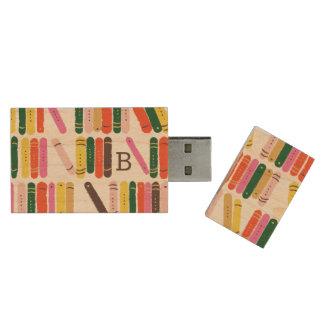 Bokmal Trä USB-minne