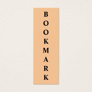 Bokmärke Litet Visitkort