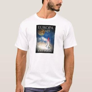 """Bokomslag av """"Europa 2049"""" vid Joel Puga T-shirt"""