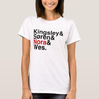 BokPojkvän Kingsley, Soren, Nora, Wes Tshirts