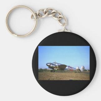 Bokträd 18, 1953, Sonoma, CA_Classic flyg Rund Nyckelring