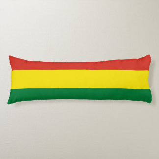 Bolivia flagga kroppskudde
