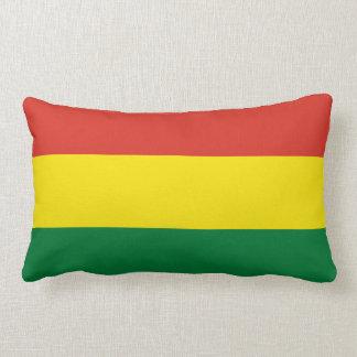 Bolivia flagga lumbarkudde