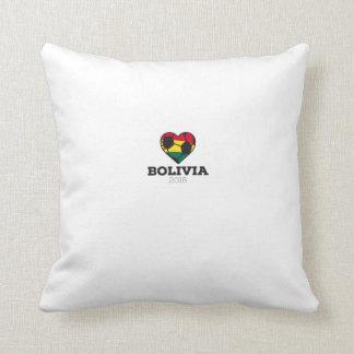 Bolivia fotbollskjorta 2016 kudde