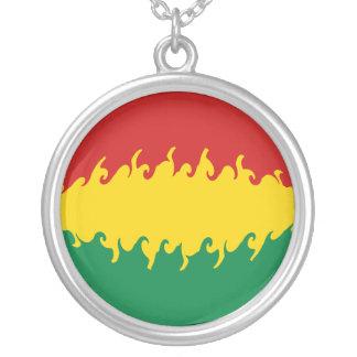 Bolivia Gnarly flagga Halsband