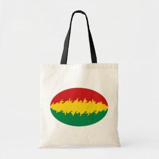 Bolivia hänger lös den Gnarly flagga Kassar