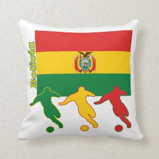 Bolivianska fotbollspelare kudde