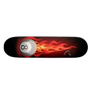 Boll 8 avfyrar på skateboard bräda 21,5 cm