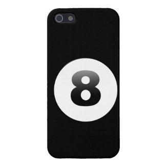 Boll åtta tränga någon fick- boll för fodral 8 för iPhone 5 fodraler