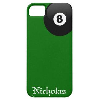 Boll åtta tränga någon fick- grön sammet Iphone 5 iPhone 5 Case-Mate Skal