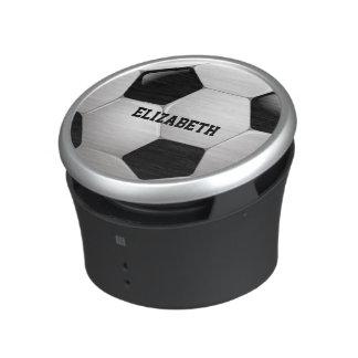Boll för anpassadefotbollfotboll bluetooth speaker