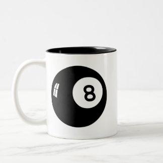 Boll för magi 8 Två-Tonad mugg