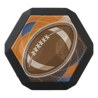 Bollspel för amerikanfotbollsport svart bluetooth högtalare