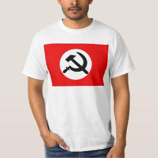 Bolsjevikiskt party för medborgare, politiska t-shirts