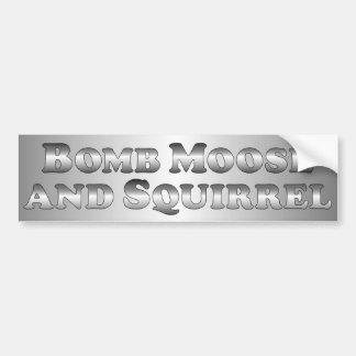 Bombardera älgen och gömma sig - grundläggande bildekaler