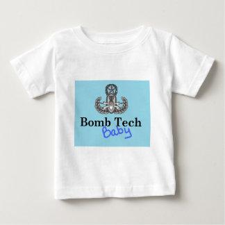 bombardera baby blue tech t-shirt