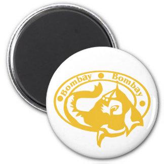 Bombay frimärke magnet