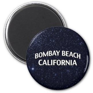 Bombay strand Kalifornien Magnet