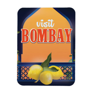 Bombay vintage resortryck magnet
