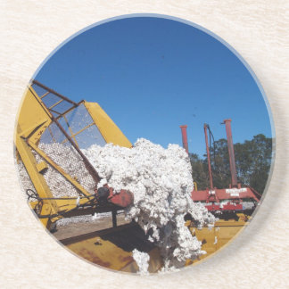 Bomullsserie--1 av 9---Ladda en enhetsbyggmästare Underlägg Sandsten