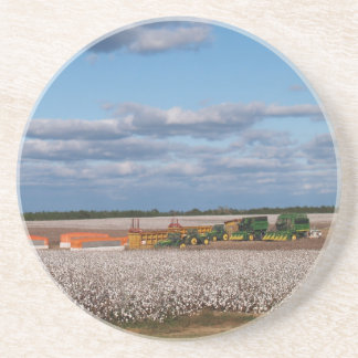 Bomullsserie--Skörda en bomullsfältkustfartyg Underlägg