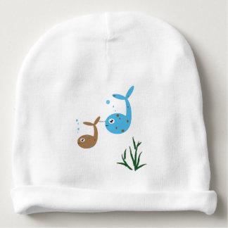 Bomullsstödbebis/begynna hatt
