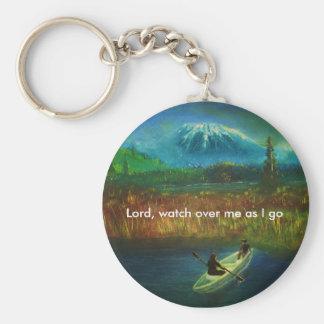 Bön Keychain Rund Nyckelring