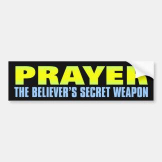 Bön: Troende hemliga vapen Bildekaler