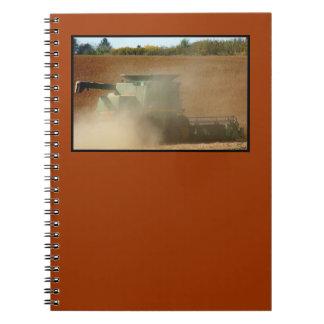 Bonde planera anteckningsbok
