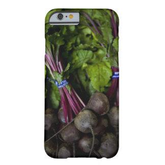 bönder marknadsför stativ med olik produce/2 barely there iPhone 6 fodral