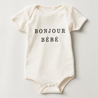 """Bonjour Bébé"" babyBodysuit Bodies"