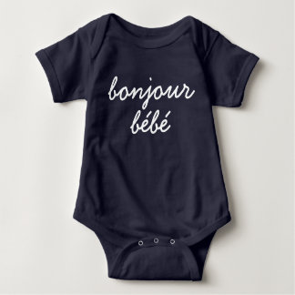 Bonjour Bebé Bodysuit T Shirt