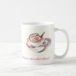 Bonjour chocolatchaud kaffemugg