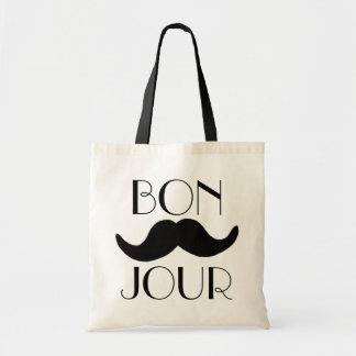 BONJOUR-Moustache Tygkasse