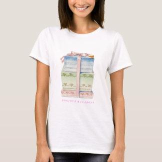 Bonjour Paris Macarons T-TRÖJA T-shirts