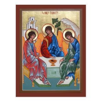Bönkort för helig Trinity Vykort