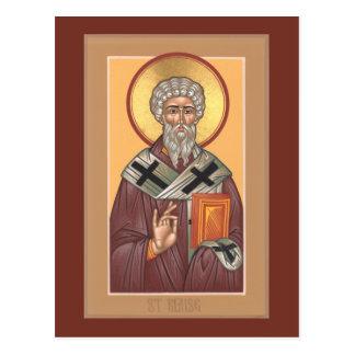 Bönkort för St. Blaise Vykort