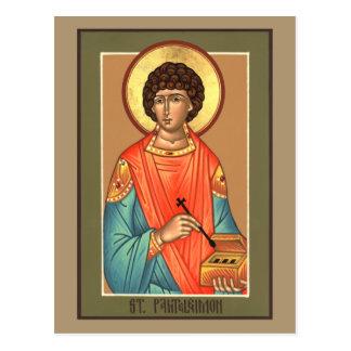 Bönkort för St. Panteleimon Vykort
