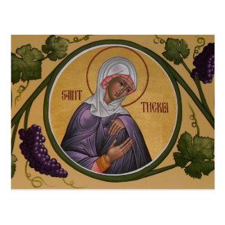 Bönkort för St. Thekla Vykort
