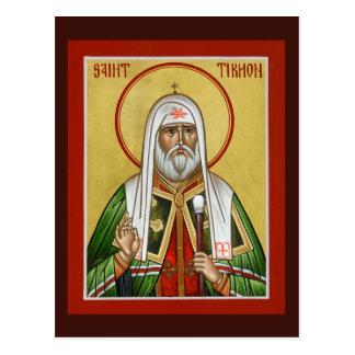Bönkort för St. Tikhon Vykort