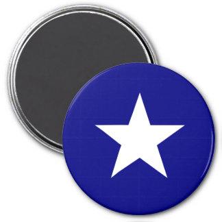 Bonnie stjärna för blåttflaggavit kylskåps magneter