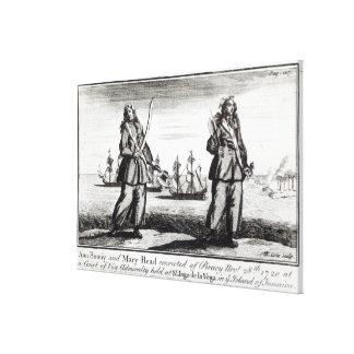 Bonny Ann och Mary Canvastryck