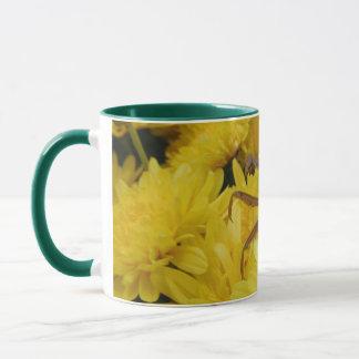 Bönsyrsa & Chrysanthemums - mugg #4