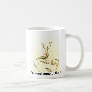 Bönsyrsamugg Kaffemugg